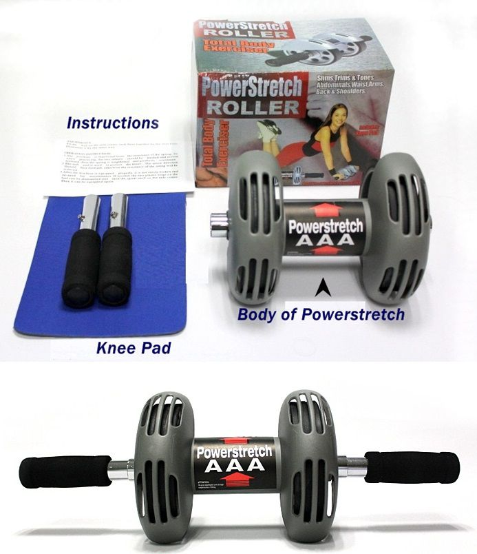 Power Stretch Roller with free knee Mat