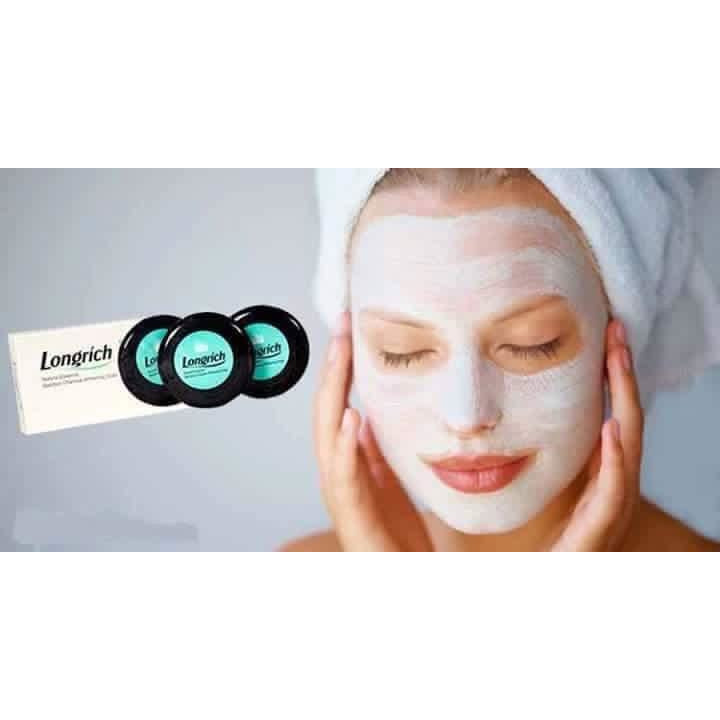 Longrich Charcoal Bamboo Soap - for smooth spotless skin