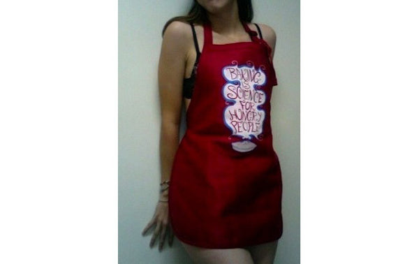 Baking is Science for Hungry People APRON