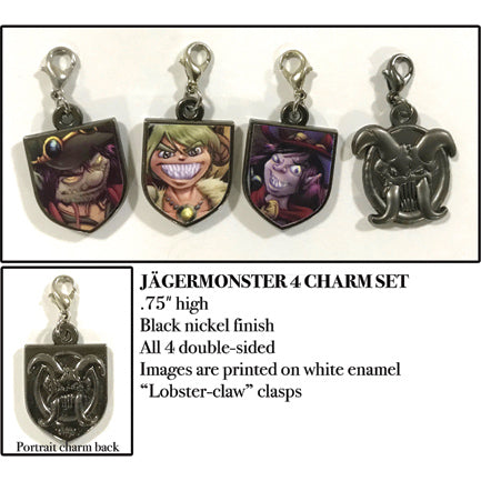 Girl Genius Charms Set 02 - Jäger
