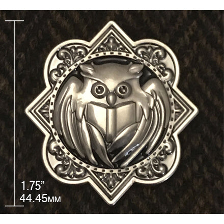 Book Hunter Library Owl Pin