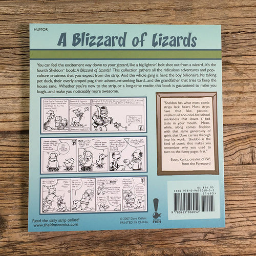 Sheldon Book 4 - Blizzard of Lizards