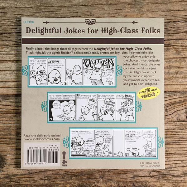 Sheldon Book 8 - Delightful Jokes For High-Class Folks