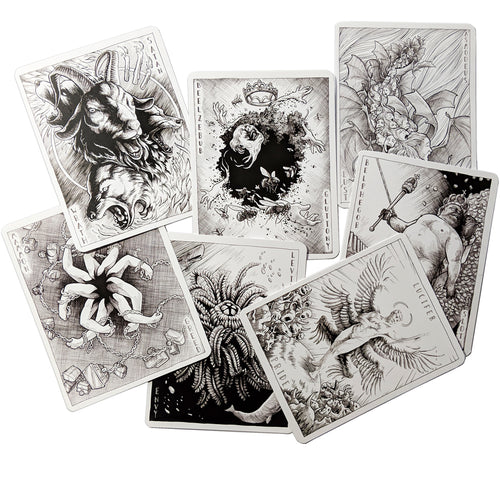Demon Cards Set