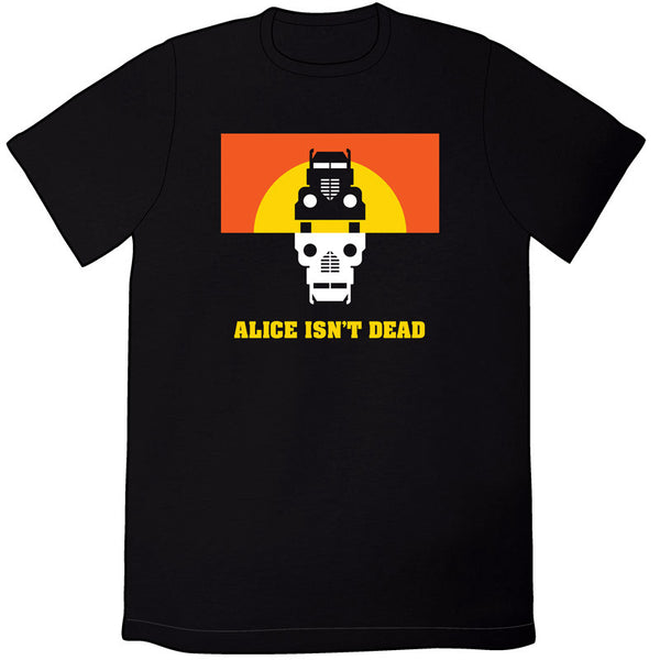 Alice Isn't Dead Logo Shirt - Black