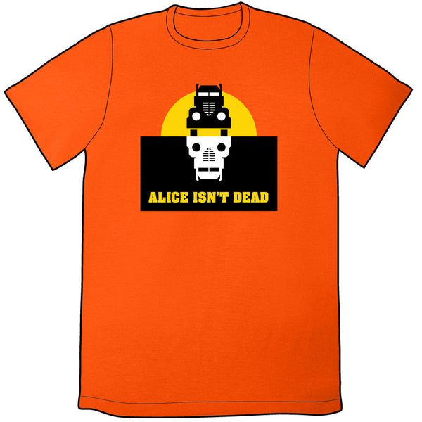 Alice Isn't Dead Logo Shirt - Orange