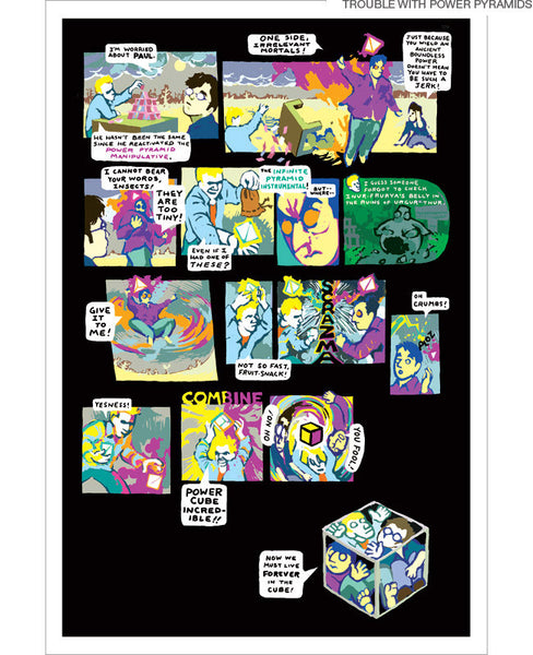A Lesson Is Learned Comic Prints