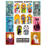 Animal Saints Prints