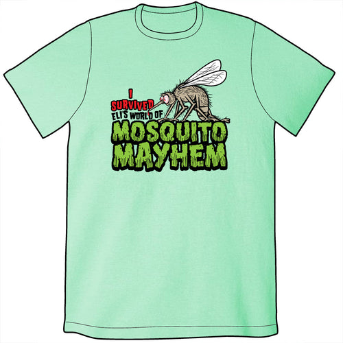 Eli's World of Mosquito Mayhem Shirt