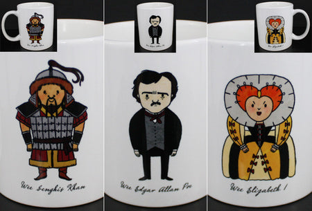 Wee The People Wilde Kahlo Beethoven Mug