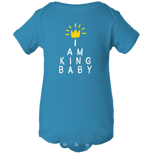 I Am King Baby Onesie