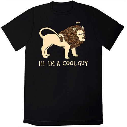 Cool Lion Shirt (Black)