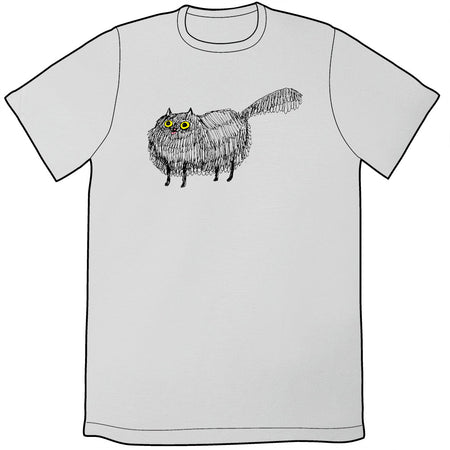 Butt Cat Shirt (Raspberry)