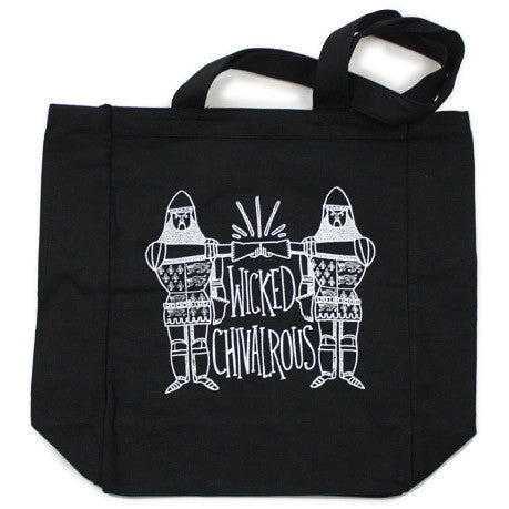 Wicked Chivalrous Tote Bag