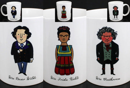 Wee The People Lovelace Douglass Franklin Mug