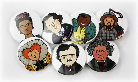The Property of Hate Button Set