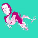 Nicolas Cage Dragon Shirt