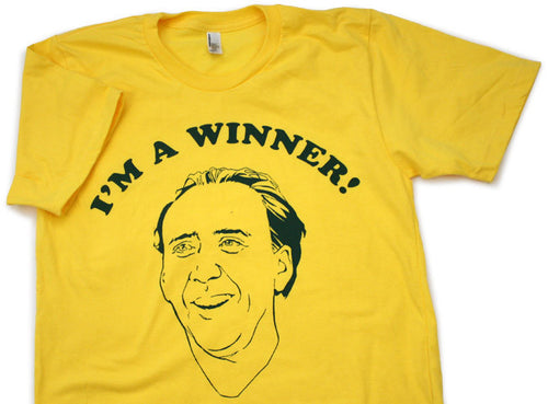 I'm A Winner Shirt (Sunshine)