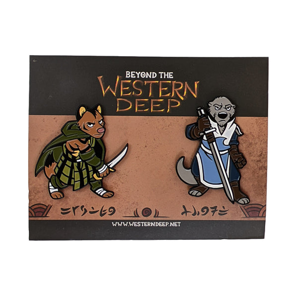 Beyond the Western Deep: Hardin and Kenosh Pin Set