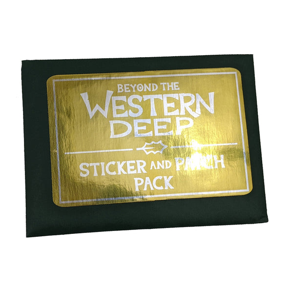 Beyond the Western Deep Sticker Sheet and Patch Set