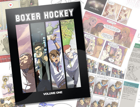 Boxer Hockey 2012 Cast Poster (Walking)