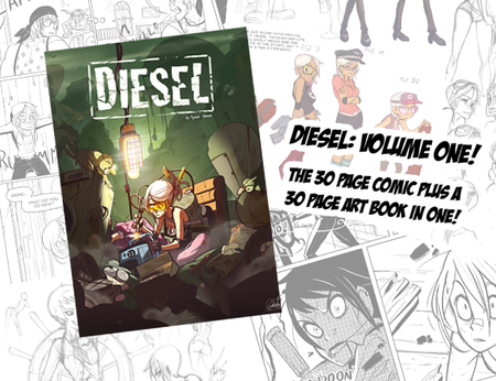 DIESEL Book One Commemorative Print