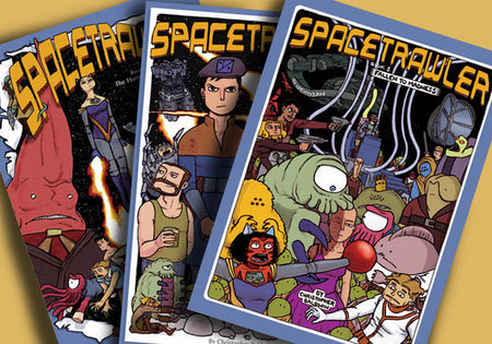 Spacetrawler Book Three