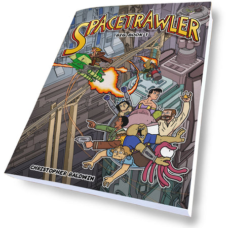 Spacetrawler Postcards