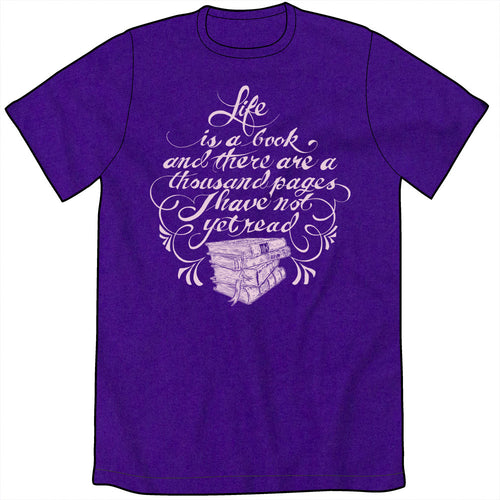 Life is a Book Shirt