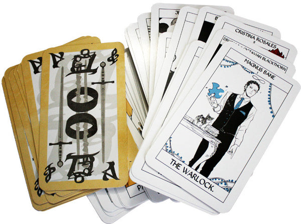 Shadowhunters Tarot Cards: Deluxe Collector's Edition