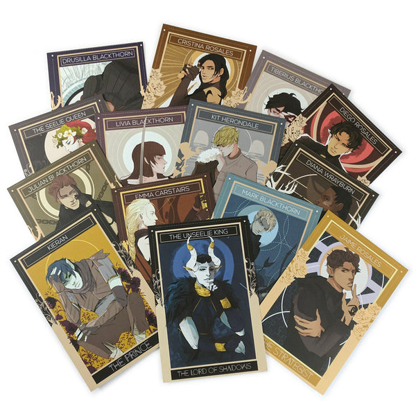 Shadowhunters Chronicles: The Dark Artifices Character Postcards