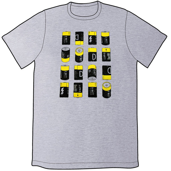 "16 ""D"" Batteries Shirt"