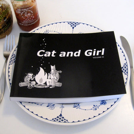 Cat and Girl Volumes One Through Five