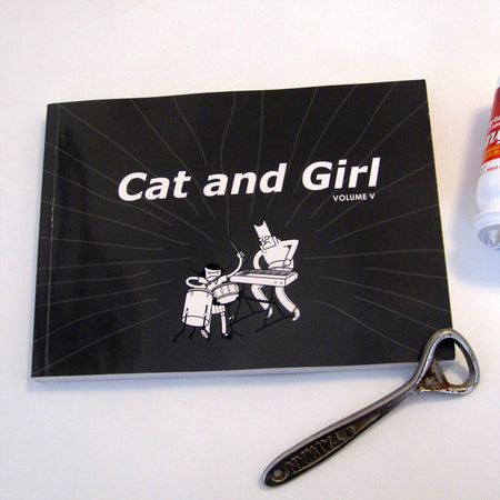Cat and Girl Sticker Pack