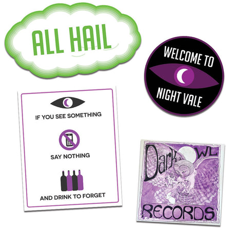 Night Vale Girl Scout PATCHES