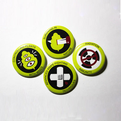 Night Vale Girl Scout BUTTON PACK