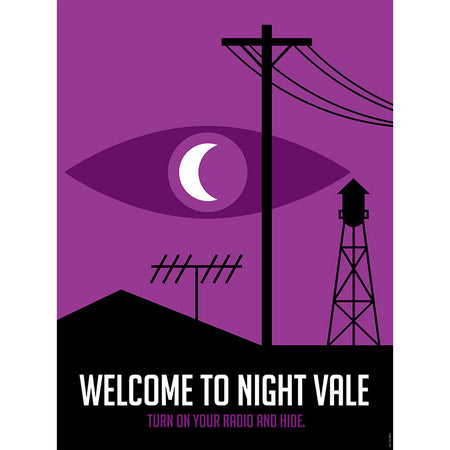 Welcome To Night Vale Logo SOCKS