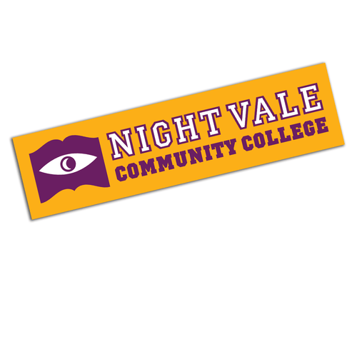 Night Vale Community College Bumper Sticker