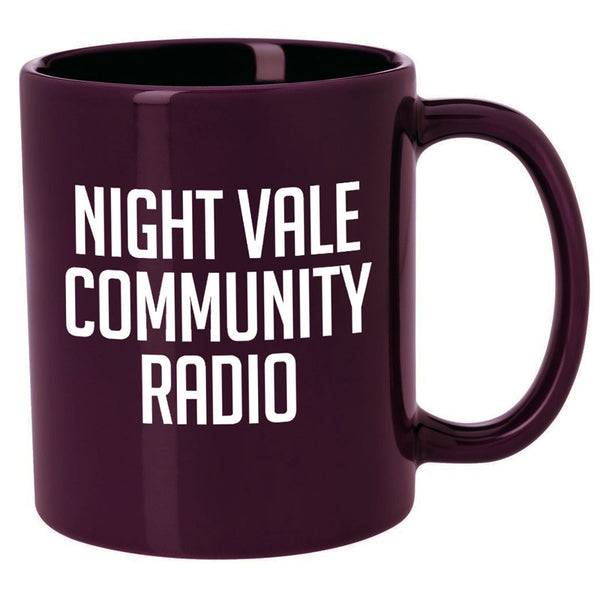 Night Vale Community Radio Mug (Plum)