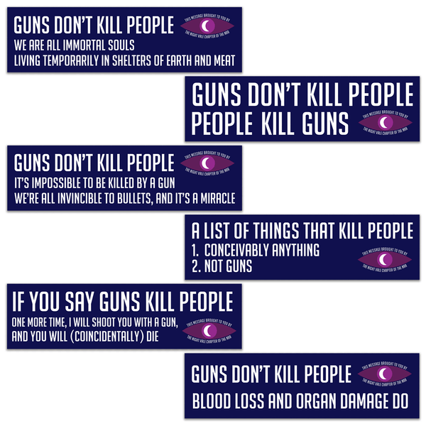 Night Vale NRA Sticker Pack