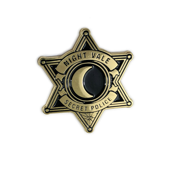 Sheriff's Secret Police Pin