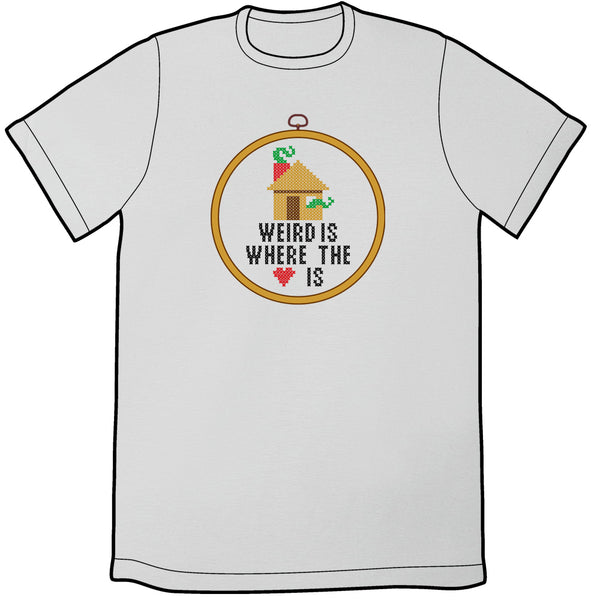 Weird is Where the Heart Is Shirt