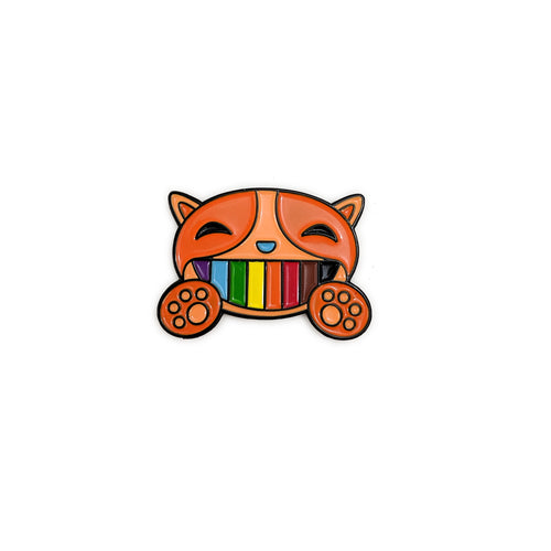 Happy Cat/Pride Cat Pin