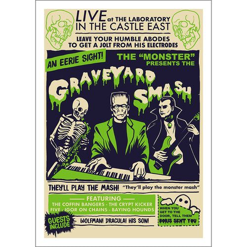 Graveyard Smash Print - Available Until October 30th!