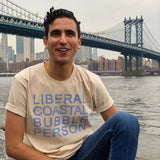 Liberal Coastal Bubble Person Shirt
