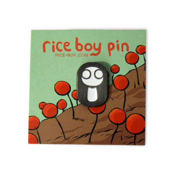 Rice Boy Pin