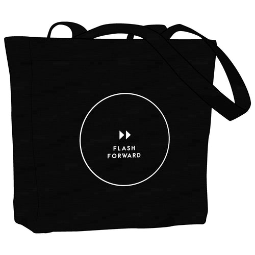 Flash Forward Circle Logo Tote Bag