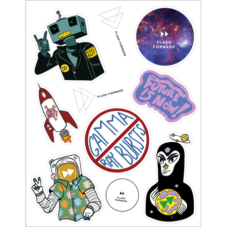 Hyper Proton Fuel Sticker 3-Pack