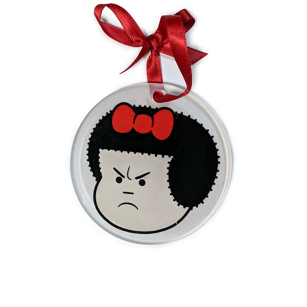 Angry Nancy Ornament