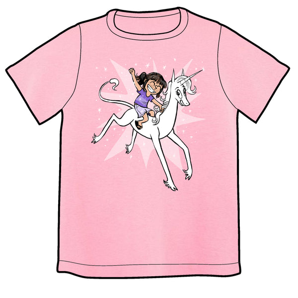 Phoebe and Her Unicorn Sparkle Shirt PRE-ORDER